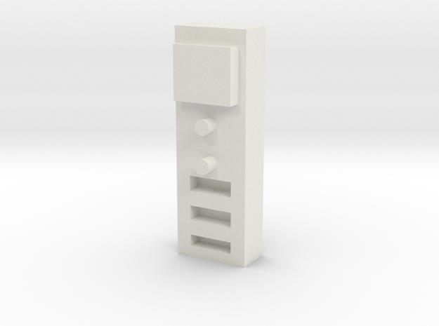 1/10 SCALE GROW ROOM CO2 SENSOR in White Natural Versatile Plastic: 1:10