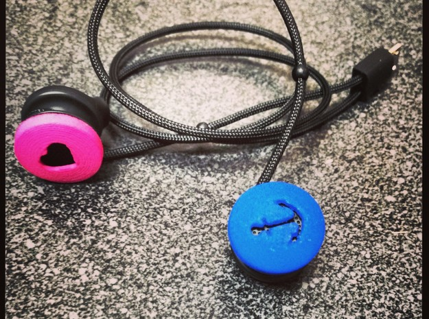 Anchor Ear Bud Cover for GLASS 3d printed