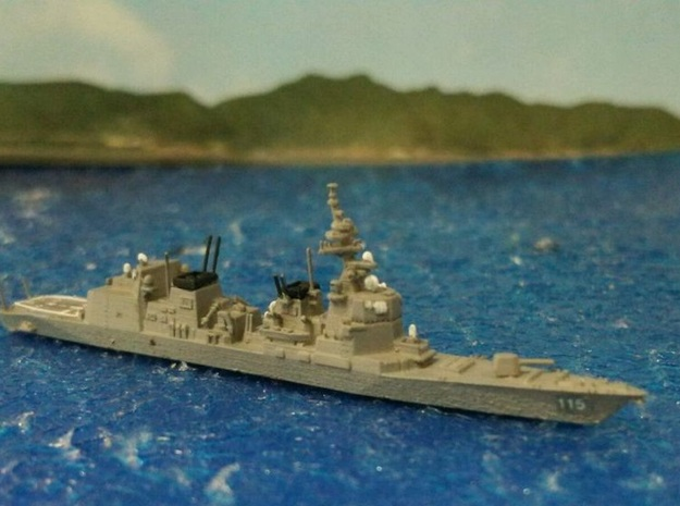 1/2000 JS Akizuki-class destroyer in Smooth Fine Detail Plastic