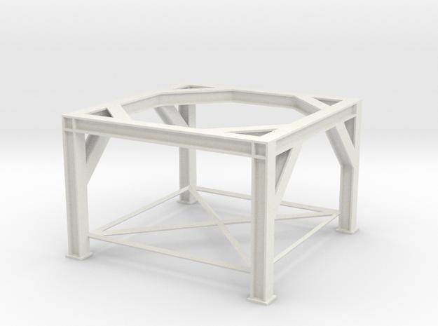 1/64 Overhead Bin Structure in White Natural Versatile Plastic