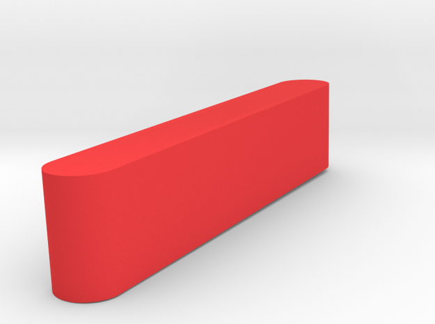 1/10 SCALE  DUALLY MARKER LIGHT REAR (RED) in Red Processed Versatile Plastic: 1:10