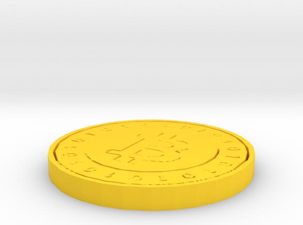 Bitcoin Model (Single Color)