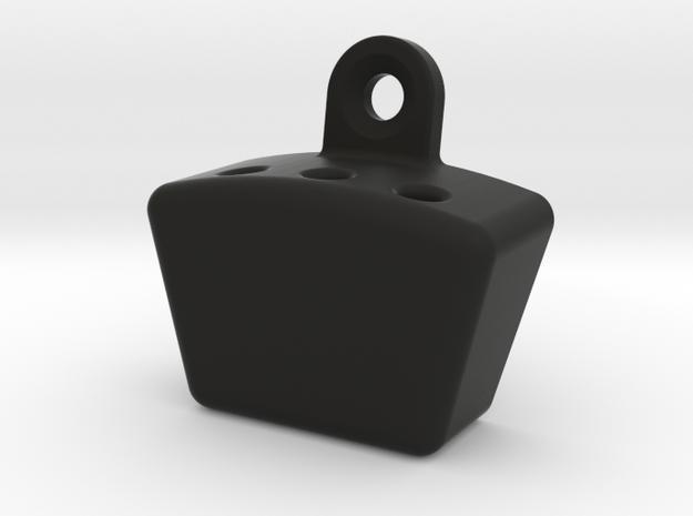 Dart Rack (fits 3 darts) in Black Natural Versatile Plastic