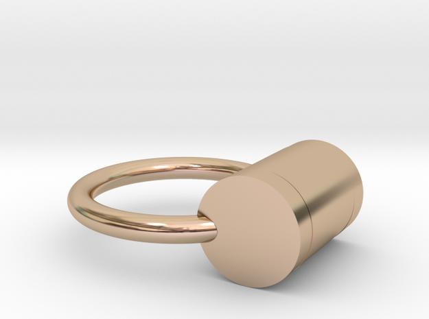 shackles in 14k Rose Gold