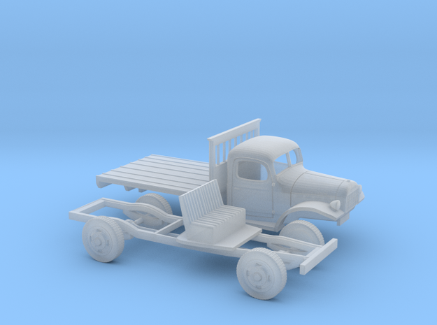 1/87 1945-50 Dodge Power Wagon Flat Bed
