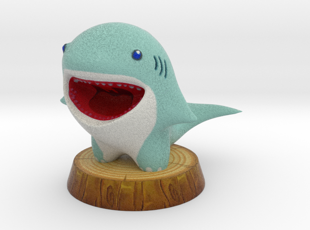 SHARKY in Full Color Sandstone