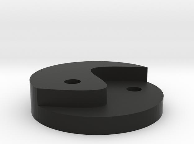 Tai Chi diagram in Black Strong & Flexible