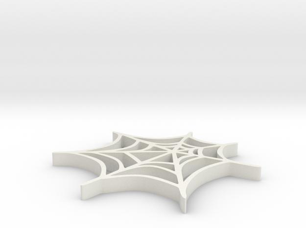 Spider web in White Strong & Flexible: Medium