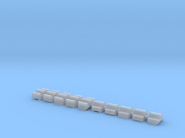 Nubs set in Smooth Fine Detail Plastic