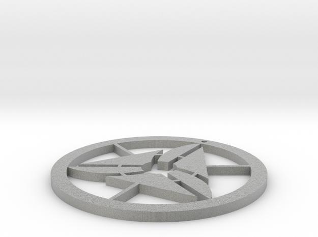 Happy necklace in Metallic Plastic
