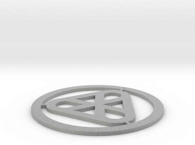 Thanksgiving pendant in Metallic Plastic