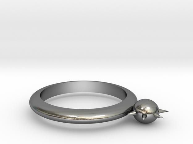 Sun Bracelet in Polished Silver