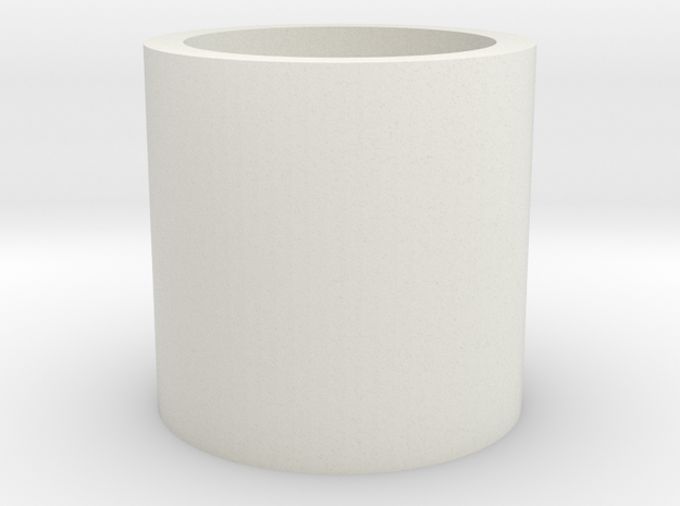 Tippmann Bufferspring Spacer in White Natural Versatile Plastic