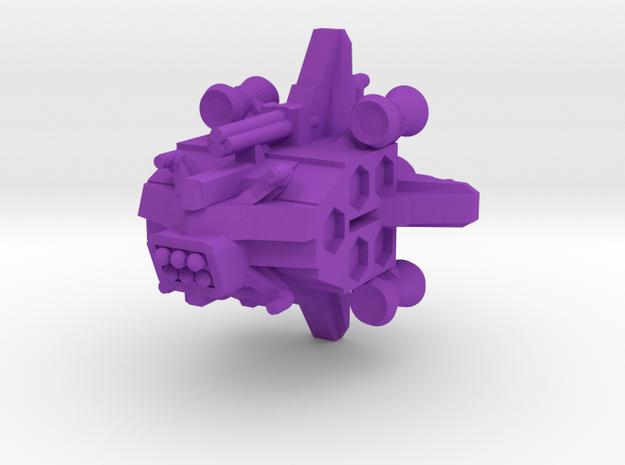 Colour Renar Gaurd Ship in Purple Processed Versatile Plastic