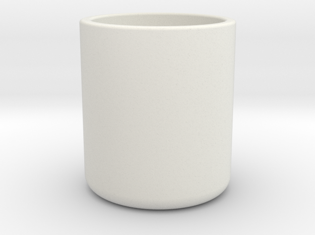Cup in White Strong & Flexible: Medium