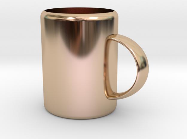 Mug in 14k Rose Gold: Medium