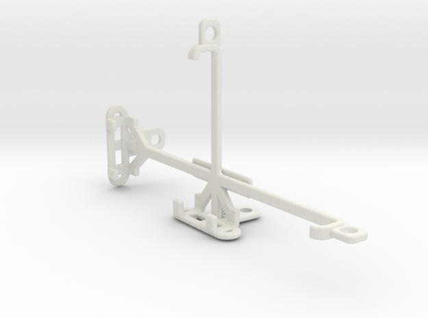 QMobile Noir Z10 tripod & stabilizer mount in White Natural Versatile Plastic