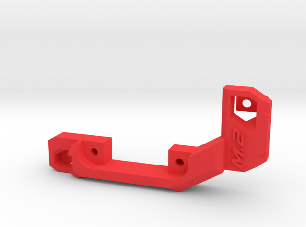 M.2 fan holder (short) in Red Strong & Flexible Polished