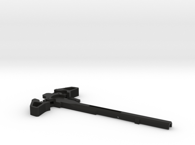 Charging Handle for Ares Amoeba Brand in Black Strong & Flexible