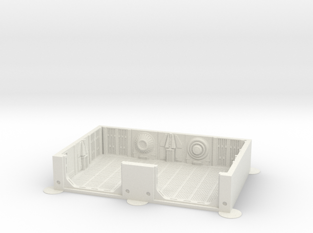 Imperial Assault tile 06A in White Strong & Flexible
