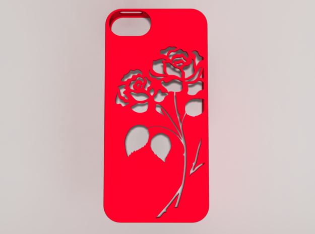 iRose iphone Case 3d printed