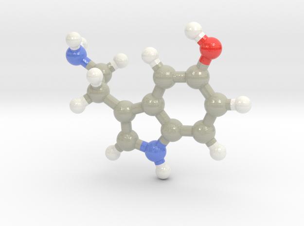 Serotonin in Glossy Full Color Sandstone