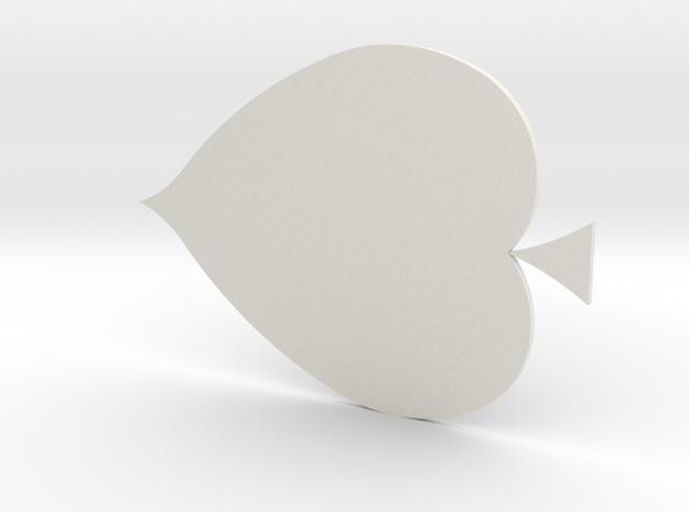 滑鼠墊.stl in White Strong & Flexible: Small