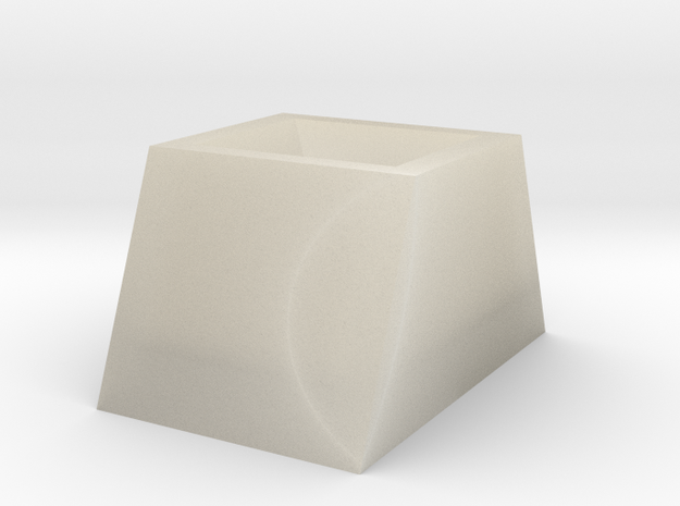 105107213詹雯婷(梯形) in White Acrylic