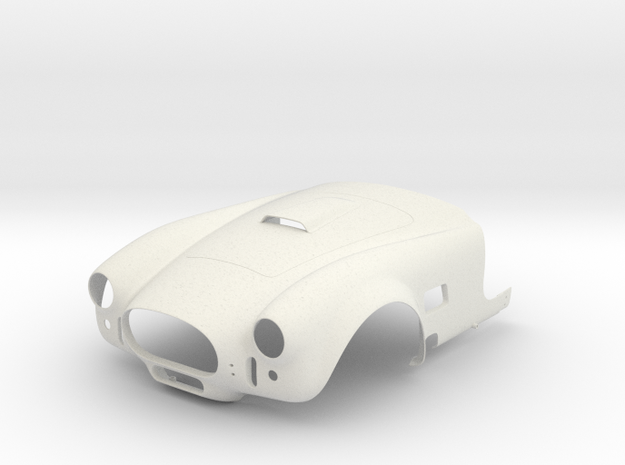 AC Cobra Mk3 Scale 1/4 in White Strong & Flexible