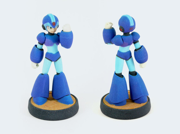Megaman X in Full Color Sandstone