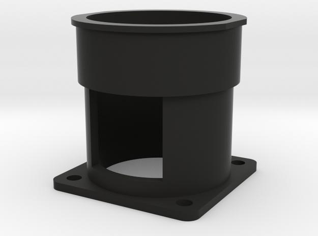 Lancaster Feather Button in Black Natural Versatile Plastic