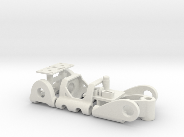 PDU030mL in White Natural Versatile Plastic