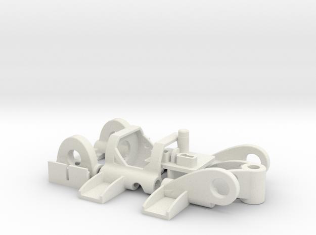 PDU030mO in White Natural Versatile Plastic
