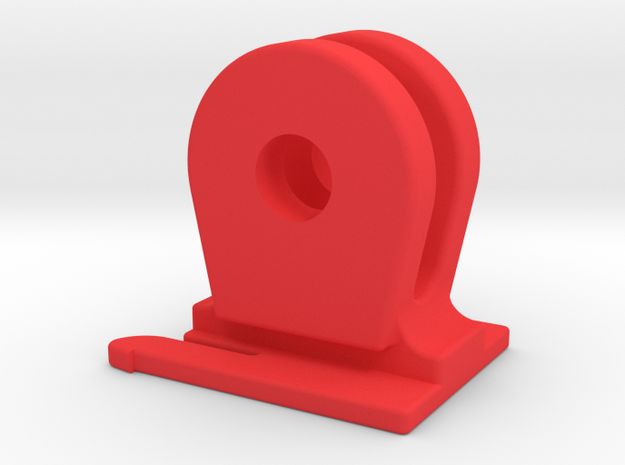 Blackburn Flea / Flea 2 GoPro Mount in Red Processed Versatile Plastic