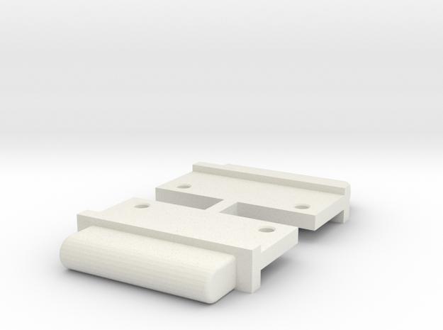FixAV Mosler MiniZ 2pc in White Strong & Flexible
