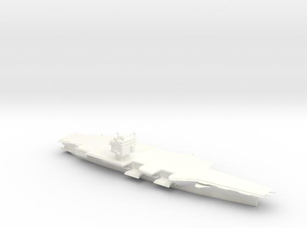 USS Enterprise CVN65 in 1/2400 in White Processed Versatile Plastic