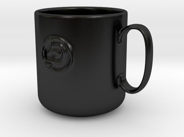 Krav Maga Mug in Matte Black Porcelain
