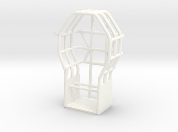 NASTY STUFF CAGE in White Processed Versatile Plastic