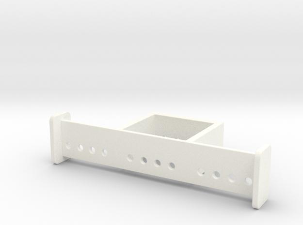 SATISFACTION BRACKET in White Processed Versatile Plastic