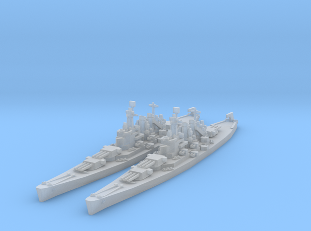 North Carolina class (Classic AA Size) in Smooth Fine Detail Plastic