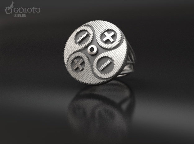 Ebiker Ring in Natural Brass: 9 / 59