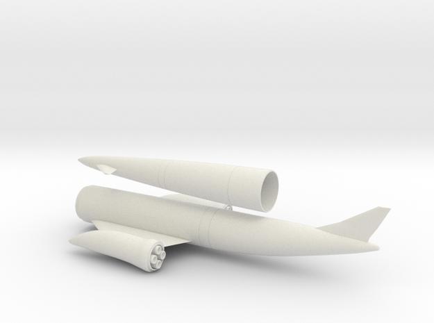 1/144 SKYLON UK SSTO SPACE PLANE in White Natural Versatile Plastic