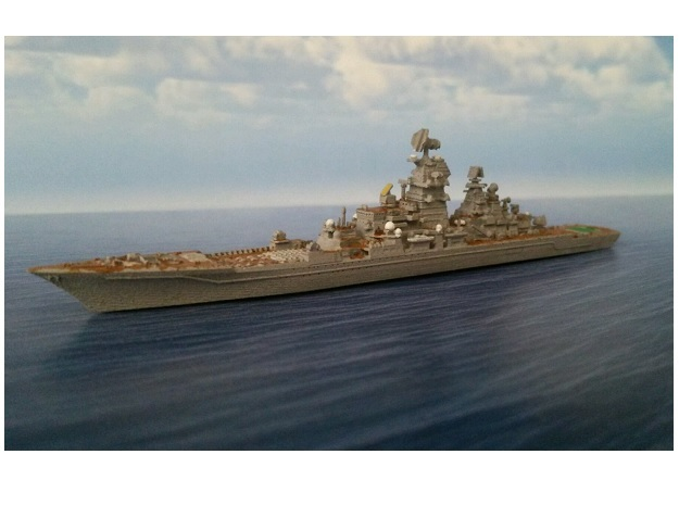 1/2000 RFS Pyotr Velikiy in Smooth Fine Detail Plastic