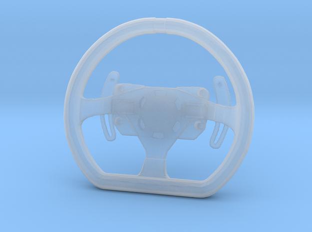 Steering Wheel P-GT4-Type - 1/10 in Smooth Fine Detail Plastic