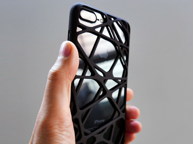 iPhone 7 Plus Case_Cross in Black Strong & Flexible