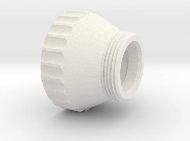 ADAPTER 40X1-5 in White Natural Versatile Plastic