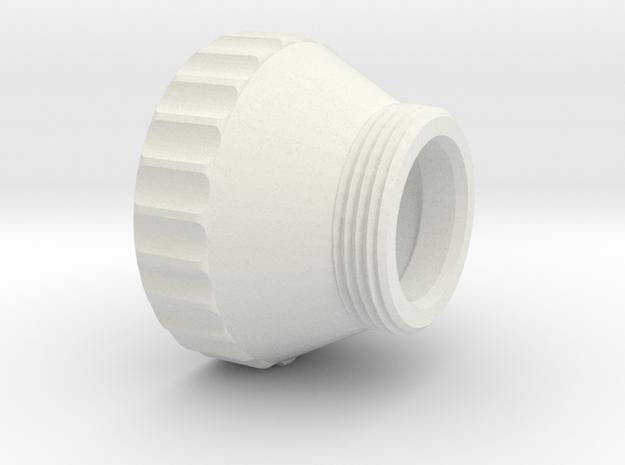 ADAPTER 40X1-5 in White Natural Versatile Plastic