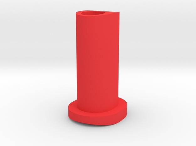 GF5 Minus 10 Caster Insert in Red Processed Versatile Plastic