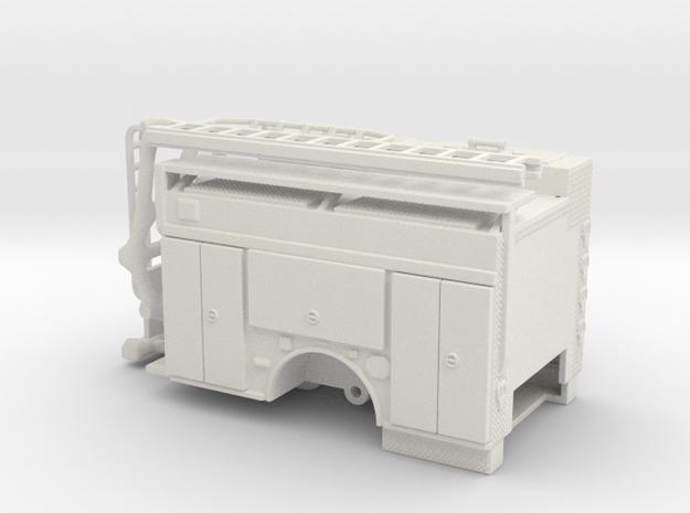 1/64 ALF Squad Body non-rollups in White Natural Versatile Plastic