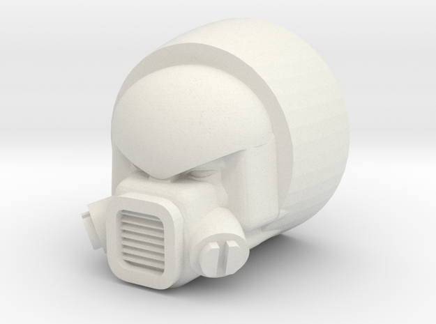 Strika head for CW Onslaught in White Natural Versatile Plastic